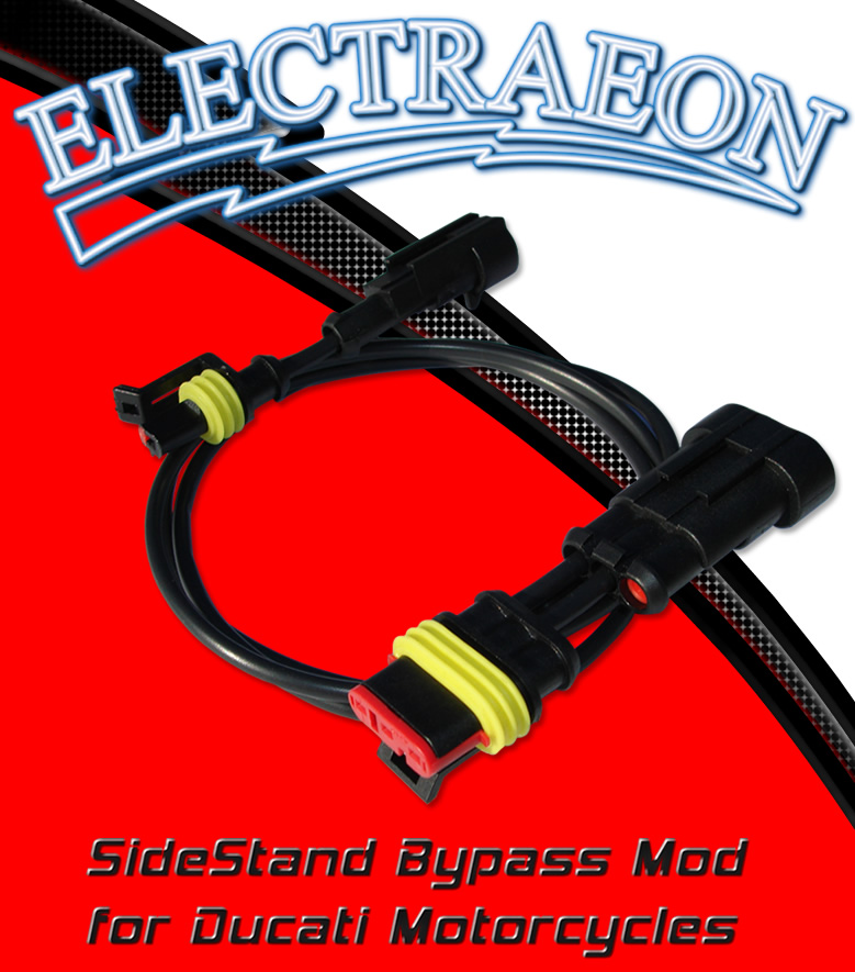 Electraeon SideStand Bypass Mod for Ducati Motorcycles.