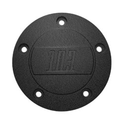 Electraeon Dark Dark Classic 103 inch Custom Points Cover for Harley-Davidson motorcycles.
